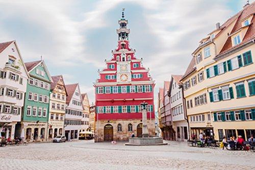 Esslingen-town-square